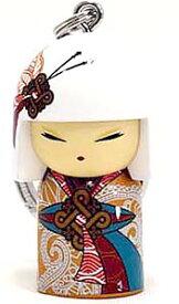 kimmidoll(キミドール)【キーホルダー】NAMIKA(ナミカ)(TGKK146)こけし人形/フィギュア/かわいい/おしゃれ/輸入雑貨/オーストラリア生まれ