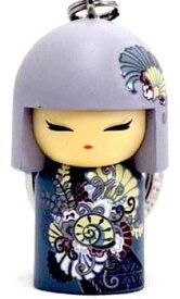 kimmidoll(キミドール)【キーホルダー】AIRI(アイリ)(TGKK147)こけし人形/フィギュア/かわいい/おしゃれ/輸入雑貨/オーストラリア生まれ