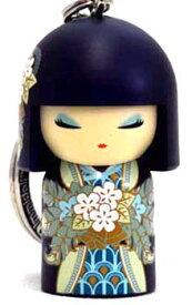 kimmidoll(キミドール)【キーホルダー】MASAYO(マサヨ)(TGKK148)こけし人形/フィギュア/かわいい/おしゃれ/輸入雑貨/オーストラリア生まれ