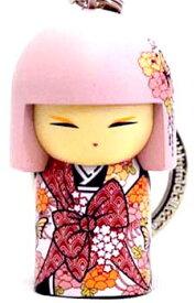 kimmidoll(キミドール)【キーホルダー】MIEKA(ミエカ)(TGKK149)こけし人形/フィギュア/かわいい/おしゃれ/輸入雑貨/オーストラリア生まれ