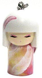 kimmidoll(キミドール)【キーホルダー】MIZUYO(ミズヨ/ミヅヨ)(TGKK158)こけし人形/フィギュア/かわいい/おしゃれ/輸入雑貨/オーストラリア生まれ