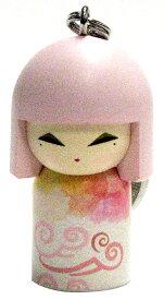 kimmidoll(キミドール)【キーホルダー】EMINA(エミナ)(TGKK163)こけし人形/フィギュア/かわいい/おしゃれ/輸入雑貨/オーストラリア生まれ