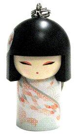 kimmidoll(キミドール)【キーホルダー】KOME(コメ)(TGKK164)こけし人形/フィギュア/かわいい/おしゃれ/輸入雑貨/オーストラリア生まれ
