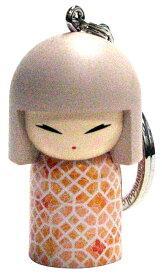 kimmidoll(キミドール)【キーホルダー】CHIYOMI(チヨミ)(TGKK165)こけし人形/フィギュア/かわいい/おしゃれ/輸入雑貨/オーストラリア生まれ