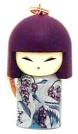 kimmidoll(キミドール)【キーホルダー】NAMIE(ナミエ)(TGKK173)こけし人形/フィギュア/かわいい/おしゃれ/輸入雑貨/オーストラリア生まれ