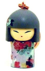 kimmidoll(キミドール)【キーホルダー】TSUKIE(ツキエ)(TGKK176)こけし人形/フィギュア/かわいい/おしゃれ/輸入雑貨/オーストラリア生まれ
