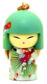 kimmidoll(キミドール)【キーホルダー】SHIGEKO(シゲコ)(TGKK177)こけし人形/フィギュア/かわいい/おしゃれ/輸入雑貨/オーストラリア生まれ