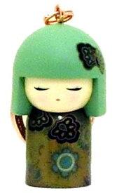 kimmidoll(キミドール)【キーホルダー】MIE(ミエ)(TGKK179)こけし人形/フィギュア/かわいい/おしゃれ/輸入雑貨/オーストラリア生まれ
