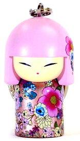 kimmidoll(キミドール)【キーホルダー】AINA(アイナ)(TGKK182)こけし人形/フィギュア/かわいい/おしゃれ/輸入雑貨/オーストラリア生まれ
