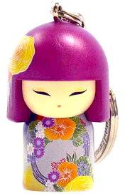 kimmidoll(キミドール)【キーホルダー】SUMIYO(スミヨ)(TGKK191)こけし人形/フィギュア/かわいい/おしゃれ/輸入雑貨/オーストラリア生まれ