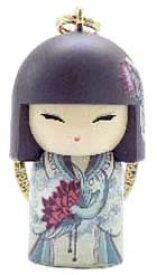 kimmidoll(キミドール)【キーホルダー】AZUMI(アズミ/アヅミ)(TGKK199)こけし人形/フィギュア/かわいい/おしゃれ/輸入雑貨/オーストラリア生まれ