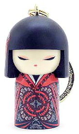kimmidoll(キミドール)【キーホルダー】SEIKO(セイコ)(TGKK201)こけし人形/フィギュア/かわいい/おしゃれ/輸入雑貨/オーストラリア生まれ