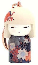 kimmidoll(キミドール)【キーホルダー】CHIKA(チカ)(TGKK208)こけし人形/フィギュア/かわいい/おしゃれ/輸入雑貨/オーストラリア生まれ