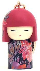 kimmidoll(キミドール)【キーホルダー】MANAMI(マナミ)(TGKK216)こけし人形/フィギュア/かわいい/おしゃれ/輸入雑貨/オーストラリア生まれ