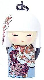 kimmidoll(キミドール)【キーホルダー】AYUMI(アユミ)(TGKK221)こけし人形/フィギュア/かわいい/おしゃれ/輸入雑貨/オーストラリア生まれ