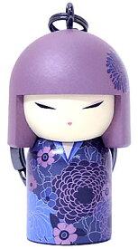 kimmidoll(キミドール)【キーホルダー】AKO(アコ)(TGKK226)こけし人形/フィギュア/かわいい/おしゃれ/輸入雑貨/オーストラリア生まれ