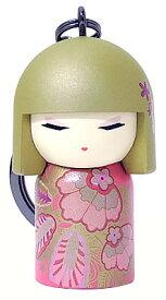 kimmidoll(キミドール)【キーホルダー】HIMENA(ヒメナ)(TGKK227)こけし人形/フィギュア/かわいい/おしゃれ/輸入雑貨/オーストラリア生まれ