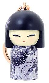kimmidoll(キミドール)【キーホルダー】MISAYO(ミサヨ)(TGKK243)こけし人形/フィギュア/かわいい/おしゃれ/輸入雑貨/オーストラリア生まれ