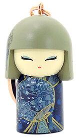 kimmidoll(キミドール)【キーホルダー】AMIKA(アミカ)(TGKK246)こけし人形/フィギュア/かわいい/おしゃれ/輸入雑貨/オーストラリア生まれ