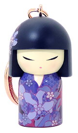 kimmidoll(キミドール)【キーホルダー】MIEKA(ミエカ)(TGKK248)こけし人形/フィギュア/かわいい/おしゃれ/輸入雑貨/オーストラリア生まれ