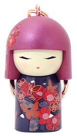 kimmidoll(キミドール)【キーホルダー】CHOU(チョウ)(TGKK249)こけし人形/フィギュア/かわいい/おしゃれ/輸入雑貨/オーストラリア生まれ
