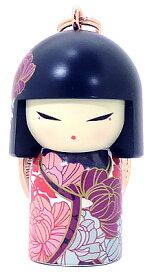 kimmidoll(キミドール)【キーホルダー】NAOMI(ナオミ)(TGKK252)こけし人形/フィギュア/かわいい/おしゃれ/輸入雑貨/オーストラリア生まれ