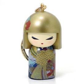 kimmidoll(キミドール)【キーホルダー】KONOMI(コノミ)(TGKK255)こけし人形/フィギュア/かわいい/おしゃれ/輸入雑貨/オーストラリア生まれ