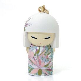 kimmidoll(キミドール)【キーホルダー】AKIKO(アキコ)(TGKK259)こけし人形/フィギュア/かわいい/おしゃれ/輸入雑貨/オーストラリア生まれ