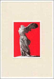 ポストカード 【アート】 アンティーク「サモトラケのミケ」【150×105mm】(CN012)