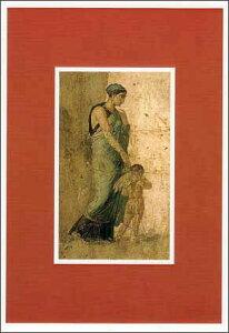ポストカード 【アート】 アンティーク「エロスの涙、ポンペイの愛する家」【150×105mm】(CN057)