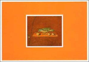 ポストカード 【アート】 アンティーク「鳥」【150×105mm】(CN060)