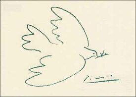 ポストカード 【アート】 ピカソ「平和の鳩」【150×105mm】(VD5012)