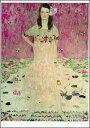 ポストカード 【アート】 クリムト「メーダ・プリマヴェージの肖像」【148×105mm】(VD8591)