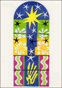 ポストカード 【アート】 マティス「クリスマスイブ」【148×105mm】(VD8597)