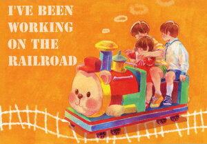 ポストカード 【イラスト】名司生「線路は続くよ」【105×150mm】(NK-008)