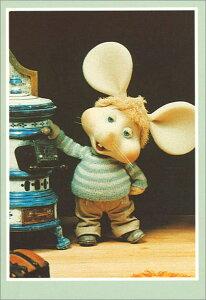 ポストカード 【イラスト/写真】 1960年代米国の音楽番組のキャラクター「トッポジージョ」【148×103mm】(TG121)キャラクター/米国/イタリア/音楽番組/絵はがき/ねずみ/ネズミ/鼠/輸入雑貨