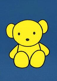 ポストカード 【イラスト】ミッフィーシリーズ/ディック・ブルーナ「くまのぬいぐるみ」絵本/キャラクター/グッズ/コレクション/熊/人形/ブルー/青背景/かわいい/贈り物/ギフト(DB503)