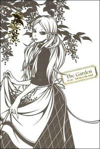 ポストカード 【イラスト】 ワカマツカオリThe Gardenシリーズ「Scence:Idesia polycarpa」【サイズ/148×100mm】【豪華エンボス加工】【箔押し加工(金)】【エッチングスタイル】(WI-08)