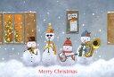 ポストカード 【クリスマス】 山田和明「フォースノーマン(クリスマスバージョン)」(KY-712)