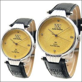 レディース ブランド 腕時計 時計 ダイア入りYukikokimijima ユキコキミジマ KA-188301 文字盤:18金ゴールドフィールド 4ポイント プレゼント ダイア 父の日 10個なら30%OFF