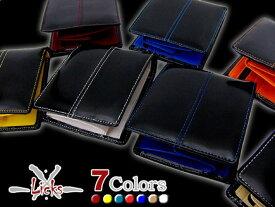 e81b977ad1bb 最高級 エナメル牛革 ウォレット二つ折り財布 鮮やか全7色*大人気短財布