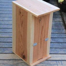 巣箱:石田式 ニホンミツバチ捕獲箱(兼飼育箱)【簡易箱】*