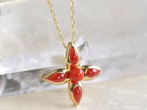シルバー ( ゴールド仕上げ ) 血赤 珊瑚 サンゴ さんご ブローチ兼 ペンダント