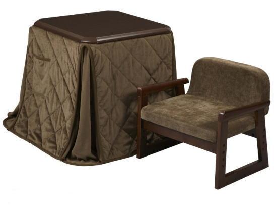 送料無料 一人用こたつ ハイタイプ 3点セット椅子、掛布団付9429 夏は座卓に <コタツ 炬燵 1人用 ひとり 一人暮らし やすらぎ 1人 ダイニング デスクこたつ>