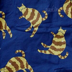 猫柄コンパクトエコバッグ【マルシェバッグ】とら猫・白猫(ショッピングバッグマイバッグ猫雑貨猫グッズネコ雑貨ねこ柄キャット)