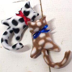 猫のクリップネコばさみ【T'sCOLLECTION・ティーズコレクション】【ラッキーシール対応】(ハンドメイド猫雑貨猫グッズネコ雑貨ねこ柄キャット)