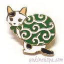 猫ピンズ ドロボー猫★ポタリングキャット(ピンバッチ 猫雑貨 ネコグッズ ねこ キャット)