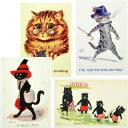 【在庫限り】イギリス製 猫ポストカード