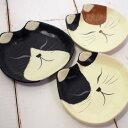 【猫のトレー】ひだまりのら 手漉き和紙 キャットトレー 猫顔 (猫雑貨 猫グッズ ネコ雑貨 ねこ柄 キャット)