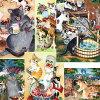 猫ポストカード琴坂映理猫のポストカード絵葉書絵はがき文房具ステーショナリー猫雑貨猫グッズネコ雑貨ねこ柄キャット
